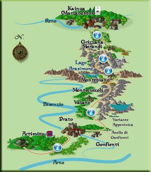 vie etruschi