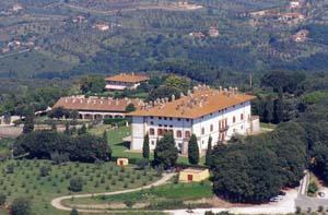 Villa medicea panorama