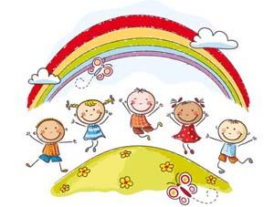 bimbi arcobaleno